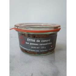 Effilé de Canard aux Pommes Caramélisées Le Médaillon Corrézien - HISTOIRES D'APERO