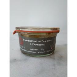 Gourmandise au Foie Gras et à l'Armagnac Le Médaillon Corrézien - HISTOIRES D'APERO