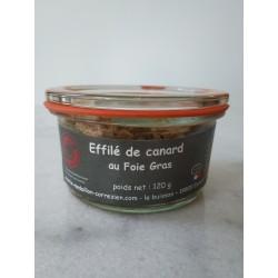 Effilé de Canard au Foie Gras Le Médaillon Corrézien - HISTOIRES D'APERO