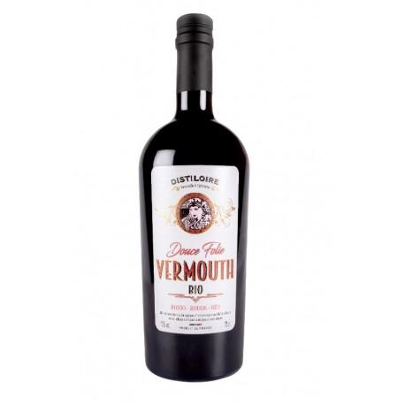 Vermouth Rouge Douce Folie Distiloire - HISTOIRES D'APERO