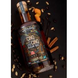 Spiced Rhum Bio 5.5 Distiloire - Histoires d'Apéros