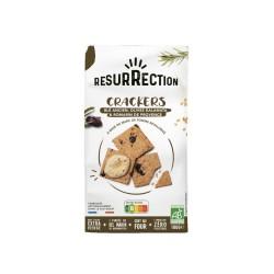 Crackers Blé Ancien et Olives Kalamata Résurrection - Histoires d'Apéro