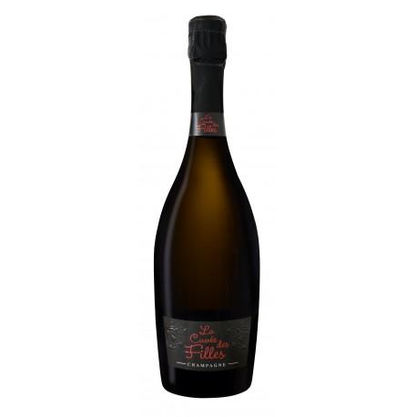 Champagne Brut Cuvée des Filles Cristian Senez - Histoires d'Apéro