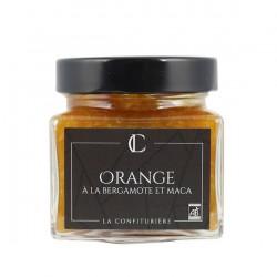 Confiture Orange à la Bergamote et Maca La Confiturière - HISTOIRES D'APERO