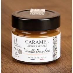 Caramel au Beurre Salé Vanille Bourbon Rozell et Spanell - Histoires d'Apéro