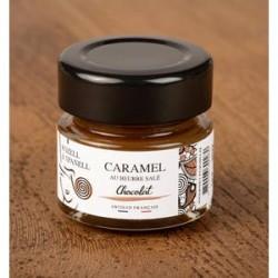 Caramel au Beurre salé Chocolat Rozell et Spanell - Histoires d'Apéro