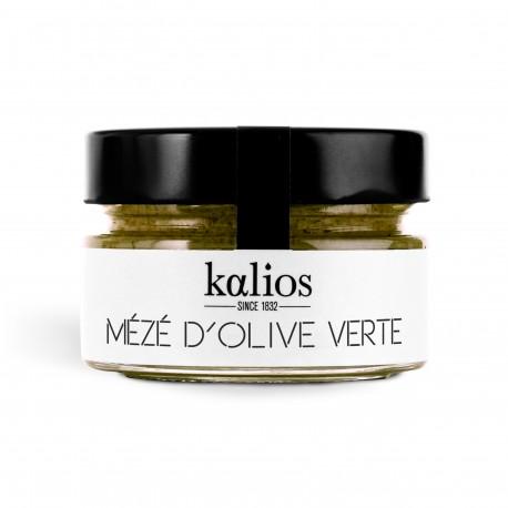 Mezzé Olives vertes Chalkidiki KALIOS - HISTOIRES D'APERO