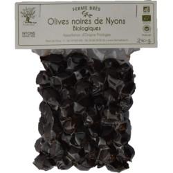 Olives Noires de Nyons AOP Bio Ferme Brès - HISTOIRES D'APERO