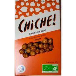 Pois Chiches Grillés Bio Piment CHICHE - HISTOIRES D'APERO