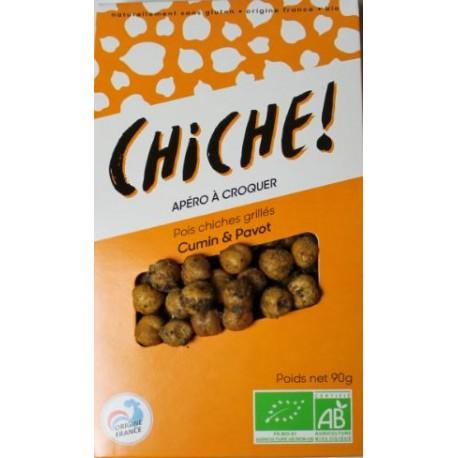 Pois Chiches Grillés Bio Cumin et Pavot - HISTOIRES D'APERO