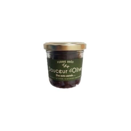 Douceur d'olive (confiture olives noires/citron/gingembre, sucrée) Ferme Brès - HISTOIRES D'APERO