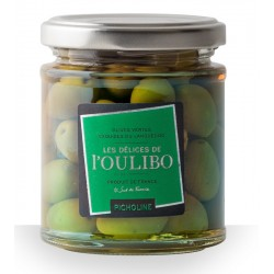 Olives Vertes Picholines natures l'Oulibo - Histoires d'Apéro