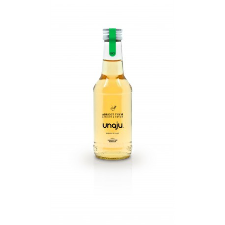 Jus de fruit pétillant Abricot Thym UNAJU - HISTOIRES D'APERO