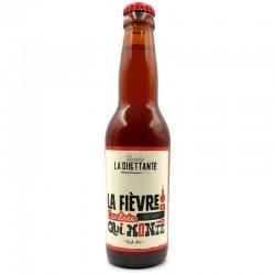 La Fièvre Red Ale Bio La Dilettante Brasserie - Histoires d'Apéro