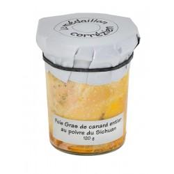 Foie Gras de Canard entier au Poivre du Sichuan Le Médaillon Corrézien - Histoires d'Apéro
